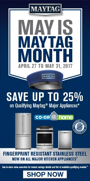 Co-op@home | May Is Maytag Month