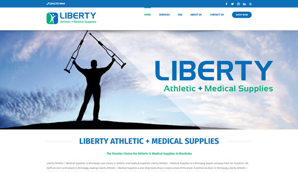 Liberty Athletic + Medical Supplies