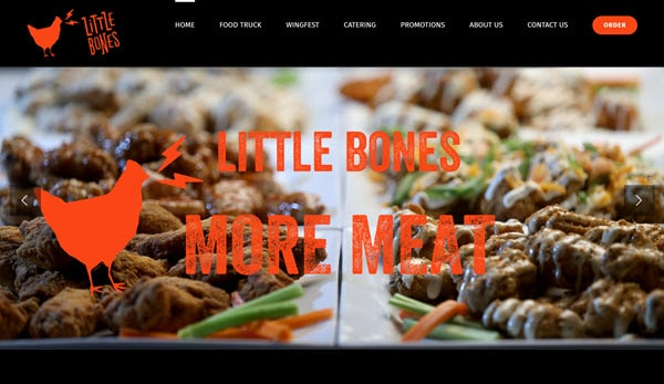 Website - Little Bones Wings