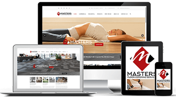 Web Design - Masters Floor Covering Services